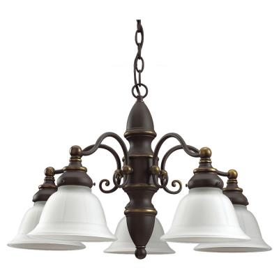 Sea Gull Lighting 39051BLE-71 Five-light Canterbury Chandelier