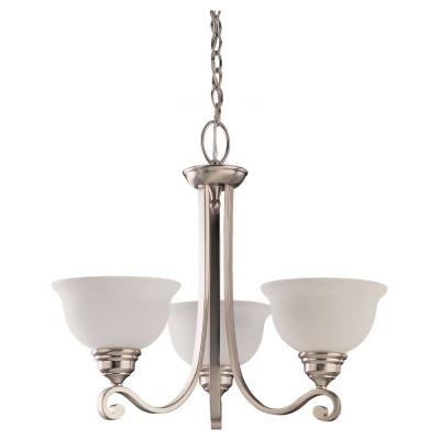 Sea Gull Lighting 39058BLE-962 Three-light Serenity Chandelier