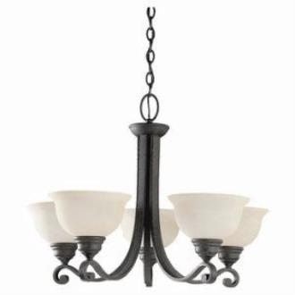 Sea Gull Lighting 39059BLE-07 Five-light Serenity Chandelier
