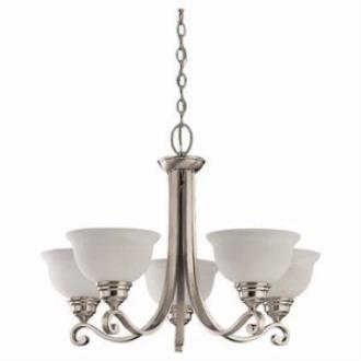 Sea Gull Lighting 39059BLE-962 Five-light Serenity Chandelier