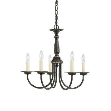 Sea Gull Lighting 3916-782 Traditional - Five-Light Chandelier