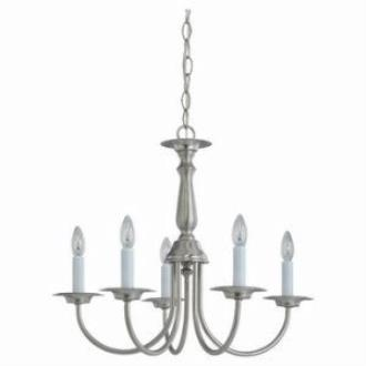 Sea Gull Lighting 3916-962 Five-Light Chandelier