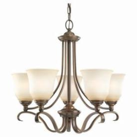 Sea Gull Lighting 39380BLE-829 Five-Light Fluorescent Chandelier
