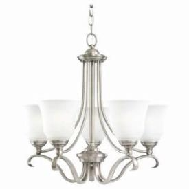 Sea Gull Lighting 39380BLE-965 Five-Light Fluorescent Chandelier
