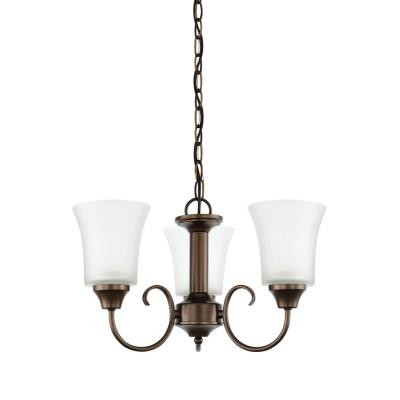 Sea Gull Lighting 39806BLE Holman - Three Light Chandelier