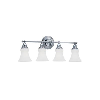 Sea Gull Lighting 40126-05 Sagemore - Four Light Wall/Bath Bar