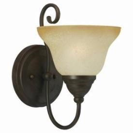 Sea Gull Lighting 41105BLE-72 Single-Light Fluorescent Wall/Bat