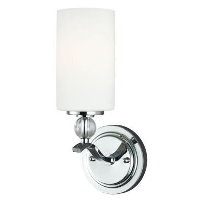 Sea Gull Lighting 4113401BLE-05 Englehorn - One Light Wall/Bath Bar