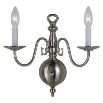 Sea Gull Lighting 4179-962 Traditional - Two Light Wall Sconce