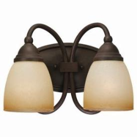 Sea Gull Lighting 44105-72 Two-Light Montclaire Bath Light