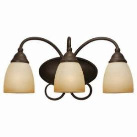 Sea Gull Lighting 44106-72 Three-Light Montclaire Bath Light