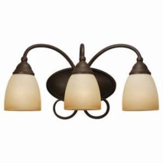 Sea Gull Lighting 44106-72 Three-Light Montclaire Bath Light