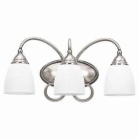 Sea Gull Lighting 44106-965 Three-Light Montclaire Vanity/Bath