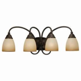 Sea Gull Lighting 44107-72 Four-Light Montclaire Bath Light