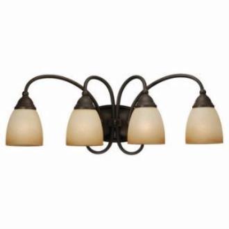 Sea Gull Lighting 44107-72 Four-Light Montclaire Bath Light