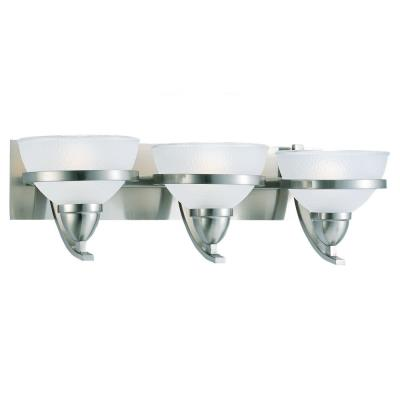 Sea Gull Lighting 44117-962 Three-Light Eternity Wall / Bath Fixture