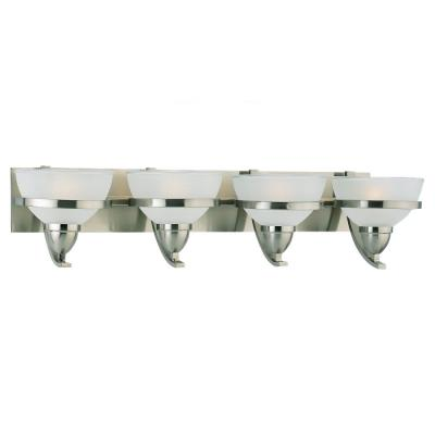 Sea Gull Lighting 44118-962 Four-Light Eternity Wall / Bath Fixture