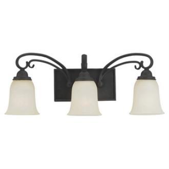 Sea Gull Lighting 44123-820 Del Prato - Three Light Wall / Bath