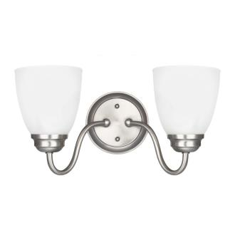 Sea Gull Lighting 4412402-962 Northbrook - Two Light Wall/Bath Bar
