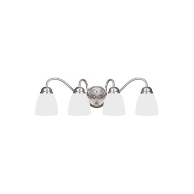 Sea Gull Lighting 4412404-962 Northbrook - Four Light Wall/Bath Bar