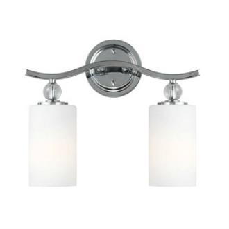 Sea Gull Lighting 4413402BLE-05 Englehorn - Two Light Wall/Bath Bar