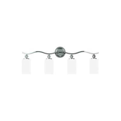Sea Gull Lighting 4413404-05 Englehorn - Four Light Wall/Bath Bar