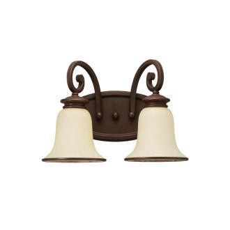 Sea Gull Lighting 44145-814 Two-Light Acadia Bath Fixture