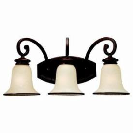 Sea Gull Lighting 44146-814 Three-Light Acadia Bath Fixture