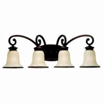 Sea Gull Lighting 44147-814 Four-Light Acadia Wall Light