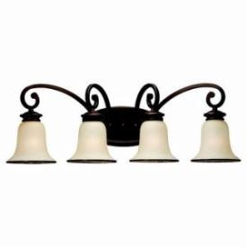 Sea Gull Lighting 44147BLE-814 Energy Star Four-light Acadia Wall Light