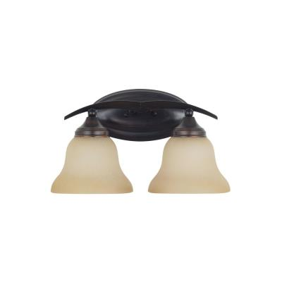 Sea Gull Lighting 44175 Brockton - Two Light Bath Bar