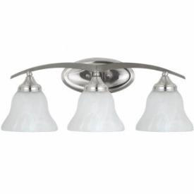 Sea Gull Lighting 44176 Brockton - Three Light Bath Bar