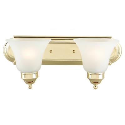 Sea Gull Lighting 44236-02 Linwood - Two Light Wall / Bath