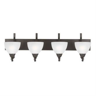 Sea Gull Lighting 4431404-715 Vitelli - Four Light Wall/Bath Bar