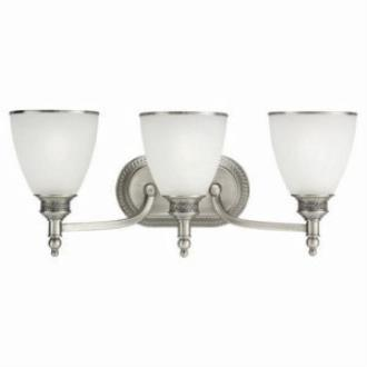 Sea Gull Lighting 44351-965 Three Light Antique Brushed Nickel Wall Light