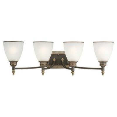 Sea Gull Lighting 44352-708 Laurel Leaf - Four Light Wall / Bath