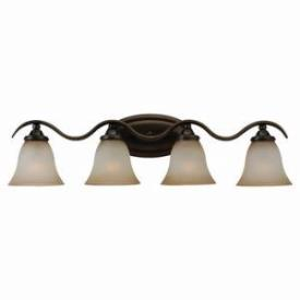 Sea Gull Lighting 44362-829 Four-Light Rialto Wall / Bath Fixture