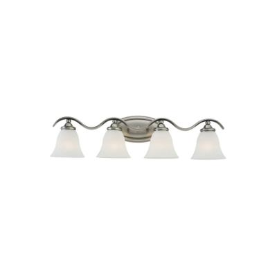 Sea Gull Lighting 44362-965 Four-Light Rialto Wall / Bath Fixture