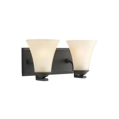 Sea Gull Lighting 44375-839 Two Light Bath Bar