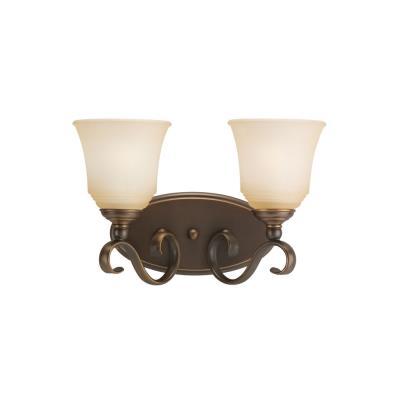 Sea Gull Lighting 44380-829 Two Light Bath Bar