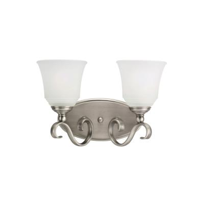 Sea Gull Lighting 44380-965 Two Light Bath Bar