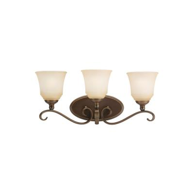 Sea Gull Lighting 44381-829 Three Light Bath Bar