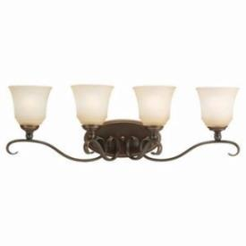 Sea Gull Lighting 44382-829 Four Light Bath Bar