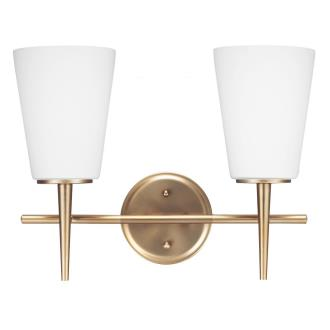 Sea Gull Lighting 4440402BLE-848 Driscoll - Two Light Wall/Bath Bar