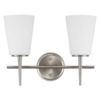 Sea Gull Lighting 4440402BLE-962 Driscoll - Two Light Wall/Bath Bar
