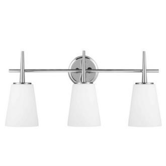 Sea Gull Lighting 4440403-05 Driscoll - Three Light Wall/Bath Bar