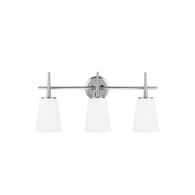 Sea Gull Lighting 4440403-05 Driscoll - Three Light Wall/Bath Bar