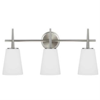 Sea Gull Lighting 4440403-962 Driscoll - Three Light Wall/Bath Bar