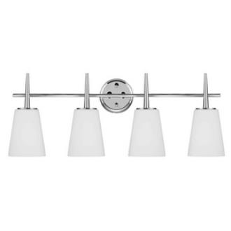 Sea Gull Lighting 4440404-05 Driscoll - Four Light Wall/Bath Bar