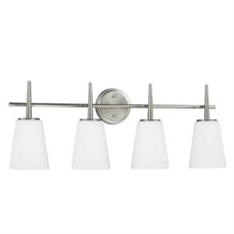 Sea Gull Lighting 4440404-962 Driscoll - Four Light Wall/Bath Bar